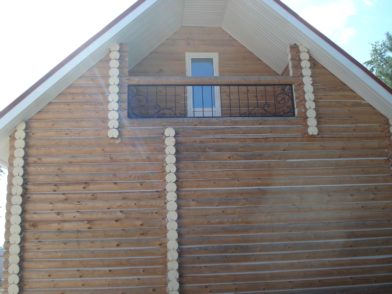 """Кованая балконная решётка """"лоза""""."""