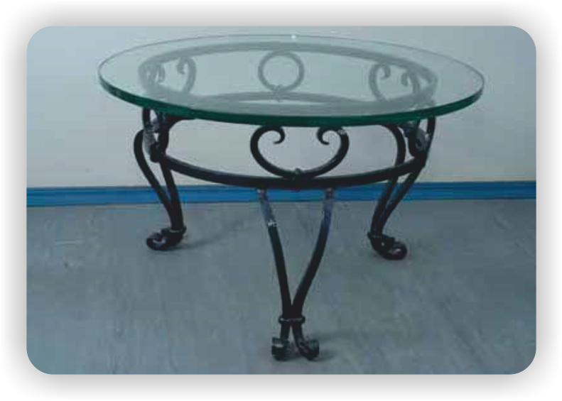 Круглый стол из металла своими руками 97